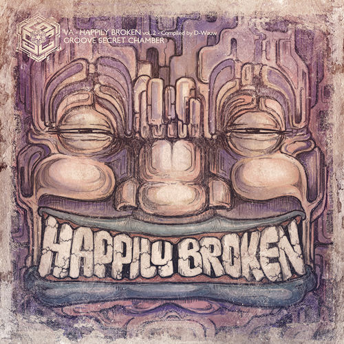 Happy Broken Compilation Artwork - Groove Secret Chamber