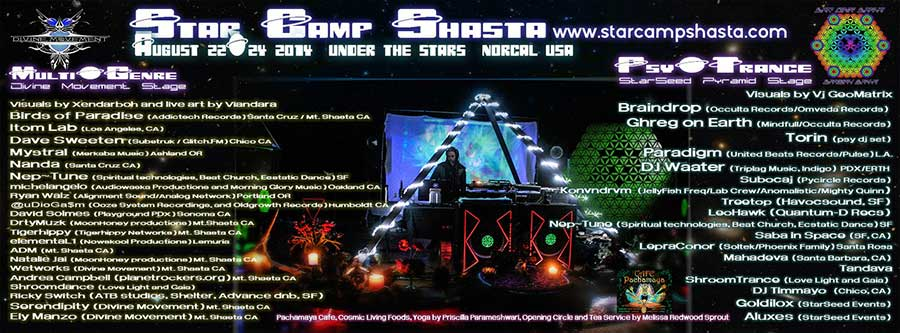 star camp shasta 2014 flyer